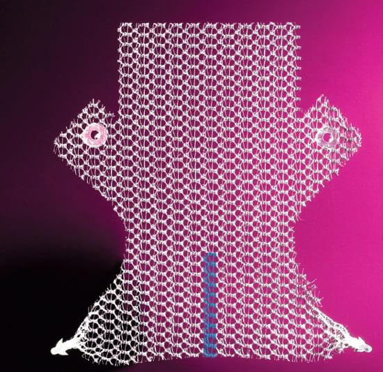 Elevate transvaginal mesh