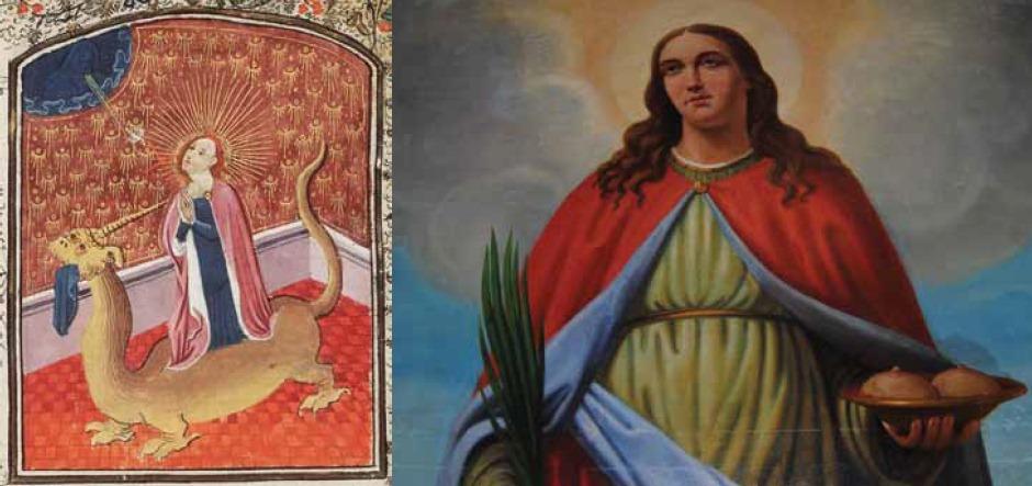 Saints for childbirth and nursing.