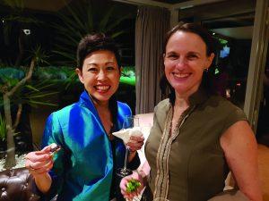 Radiologist/sonologist, Dr Emmeline Lee, and WA College Councillor, Dr Kristy Milward.