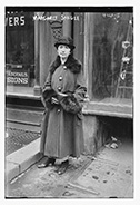 Photo of Margaret Sanger from George Grantham Bain Collection (Library of Congress).